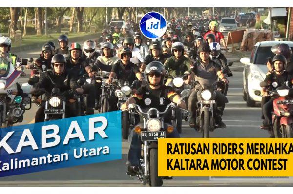 Ratusan Riders Meriahkan Kaltara Motor Contest 2020