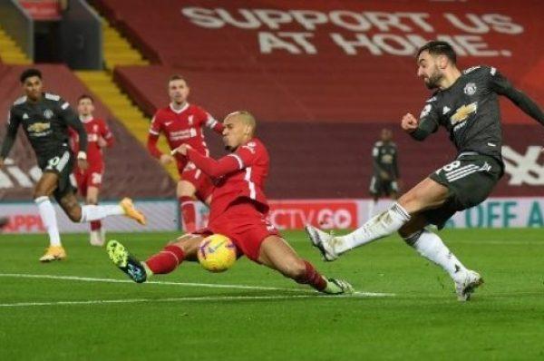 Liverpool vs Manchester United Berakhir Imbang Tanpa Gol