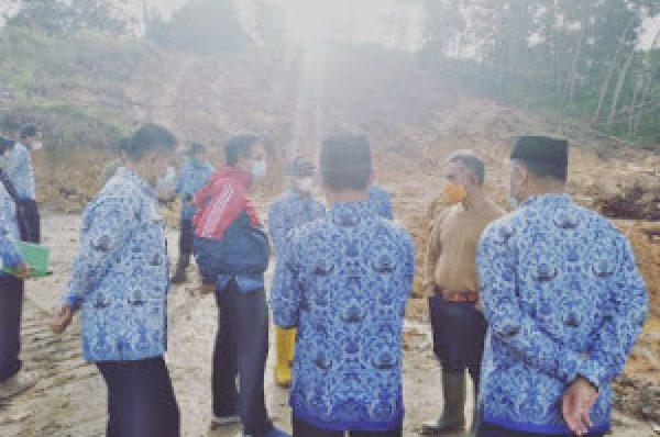 Wali Kota Tarakan Tinjau Lokasi Pemakaman Jenazah Covid-19