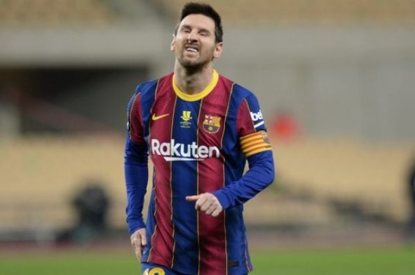 Messi Dikartu Merah, Hanya Dihukum Dua Pertandingan