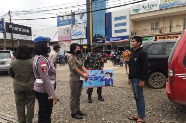 Operasi Yustisi Protokol Kesehatan Terus Dilakukan di Malinau