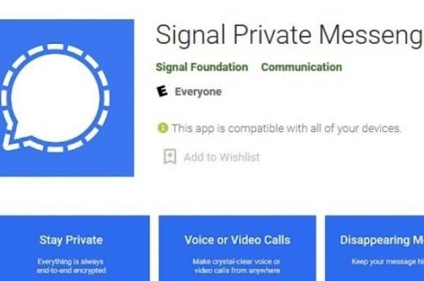 Signal, Aplikasi Pesaing WhatsApp yang Diklaim Lebih Aman
