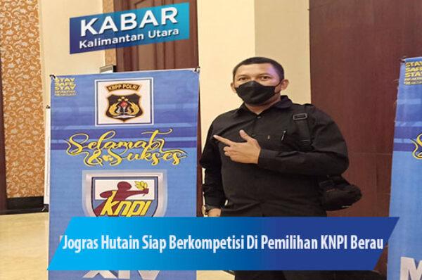 Jogras Hutain Siap Berkompetisi Di Pemilihan Ketua KNPI Berau