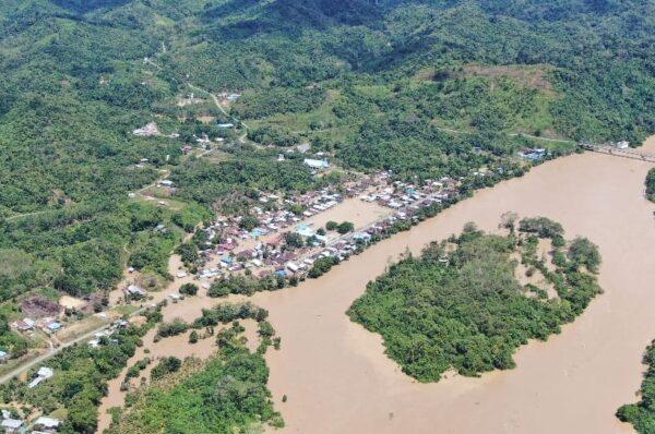 Malinau Dilanda Banjir, Warga Diminta Waspada