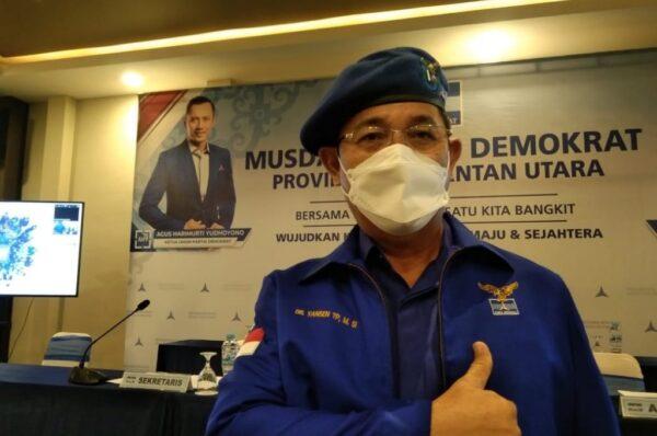 Yansen TP Pimpin Lagi Partai Demokrat Kaltara