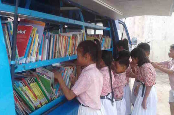 Bookmobile Upaya Tana Tidung Tingkatkan Literasi