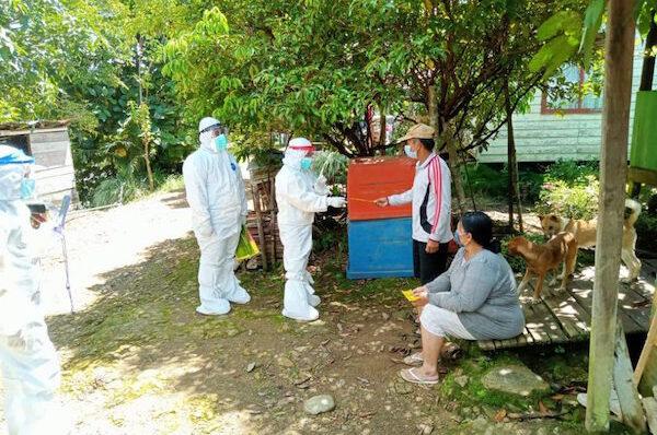 Tangani Covid-19 di Apau Kayan, Dinkes Kaltara Kirim Bantuan